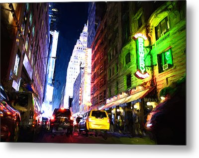 New York City Metal Print by Matthew Ashton