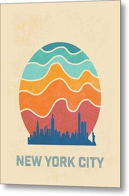 New York City Metal Print by Nicole Wilson