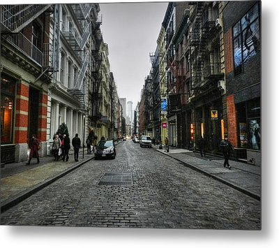 New York City - Soho 003 Metal Print by Lance Vaughn