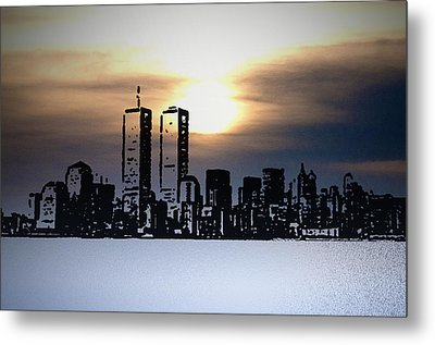 New York City - The Way We Were Metal Print by Bill Cannon