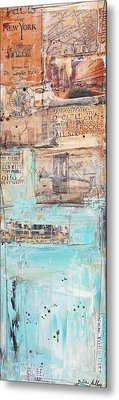 New York Metal Print by Jolina Anthony