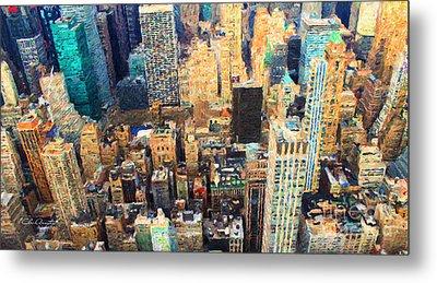 New York, New York Metal Print by Chris Armytage