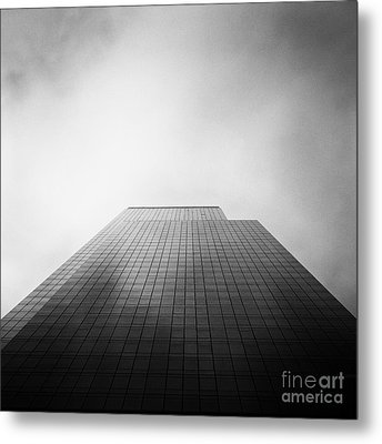New York Skyscraper Metal Print by John Farnan