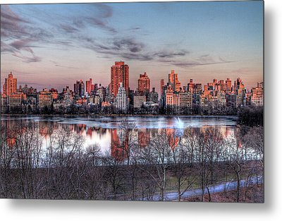 New York Spring Awakening Metal Print by Ariane Moshayedi