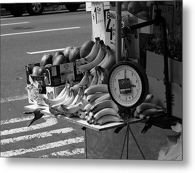 New York Street Photography 62 Metal Print by Frank Romeo