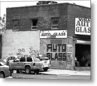 Metal Print featuring the photograph New York Street Photography 70 by Frank Romeo