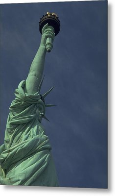 Metal Print featuring the photograph New York by Travel Pics