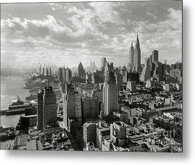 New Your City Skyline Metal Print by Jon Neidert