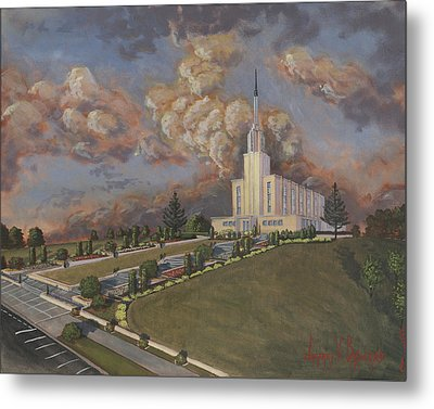 New Zealand Temple Metal Print by Jeff Brimley