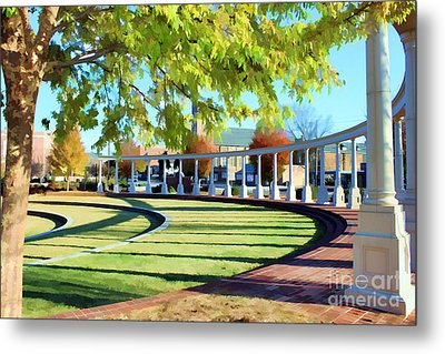 Metal Print featuring the photograph Newnan Park Ampitheatre by Roberta Byram