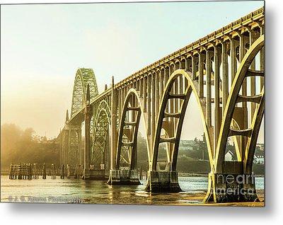 Newport Bridge Metal Print