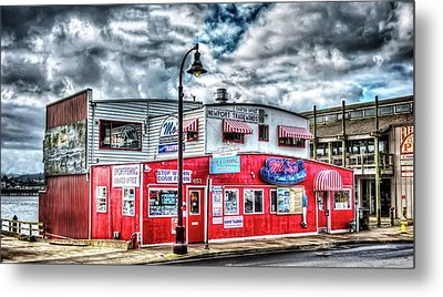 Newport Tradewinds And Mo's Metal Print by Thom Zehrfeld