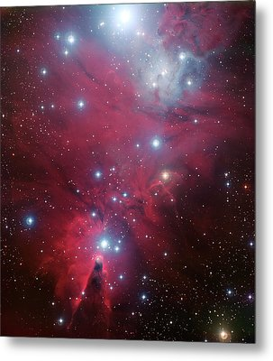 Metal Print featuring the photograph Ngc 2264 And The Christmas Tree Star Cluster by Eso
