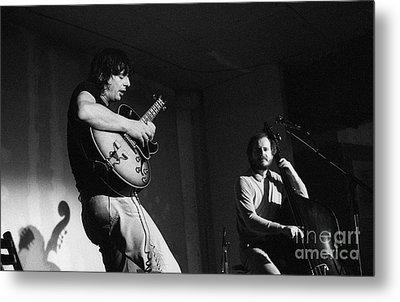 Nhop And Philip Catherine On Stage Metal Print by Philippe Taka