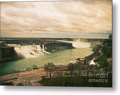 Metal Print featuring the photograph Niagara Falls by Mary Machare