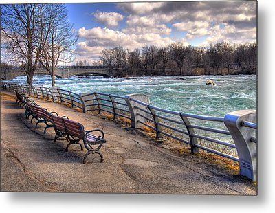 Niagara Rapids In Early Spring Metal Print
