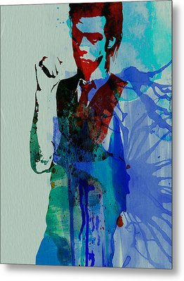 Nick Cave Metal Print by Naxart Studio