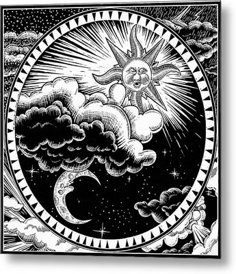 Night And Day Metal Print by Stuart Ritchie
