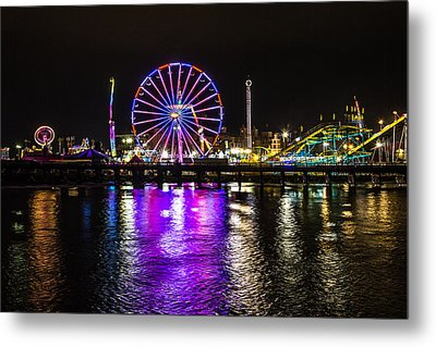 Night At The Carnival Metal Print