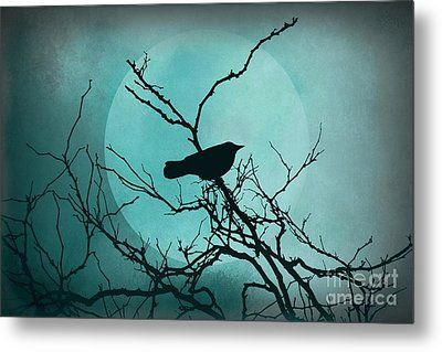 Night Bird Metal Print by Patricia Strand
