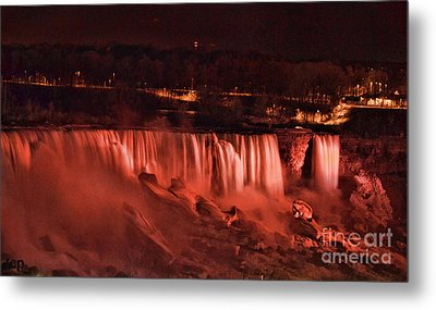 Metal Print featuring the photograph Night Falls by Traci Cottingham