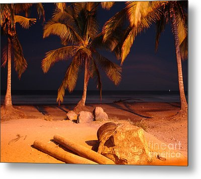 Night Forever Captured Metal Print by Chad Natti