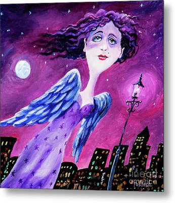 Night In The City Metal Print by Igor Postash