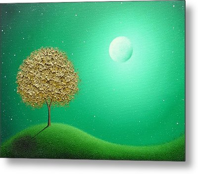 Night Journeys Metal Print by Rachel Bingaman