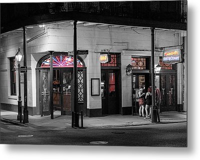 Night Life Metal Print by Glenn DiPaola