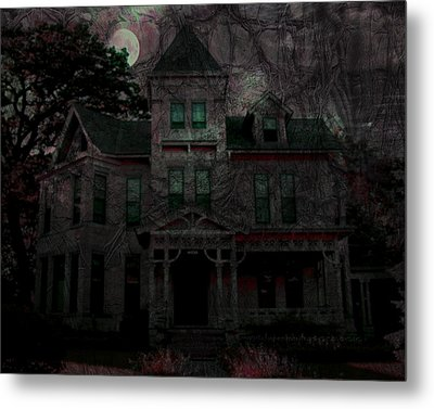 Night Metal Print by Mimulux patricia no No