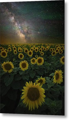 Metal Print featuring the photograph Night Of A Billion Suns by Aaron J Groen