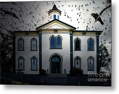 Night Of The Birds . 7d12487 Metal Print by Wingsdomain Art and Photography