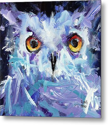 Night Owl Metal Print by Ron Krajewski and Metro