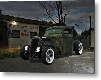 Metal Print featuring the photograph Night Rat by Steven Agius