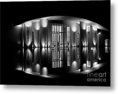 Night Reflection Metal Print