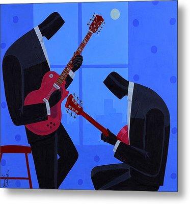Night Rhythms Metal Print by Darryl Daniels