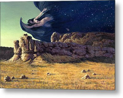 Night Metal Print by Richard Hescox