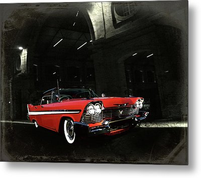 Metal Print featuring the photograph Night Ride by Steven Agius
