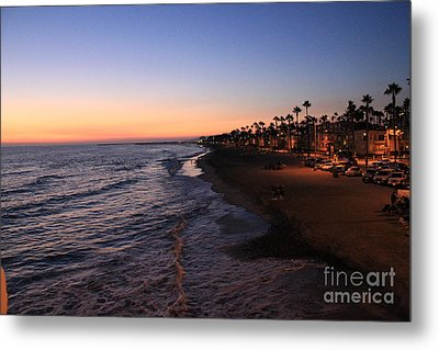 Metal Print featuring the photograph Night Shot by Kim Pascu