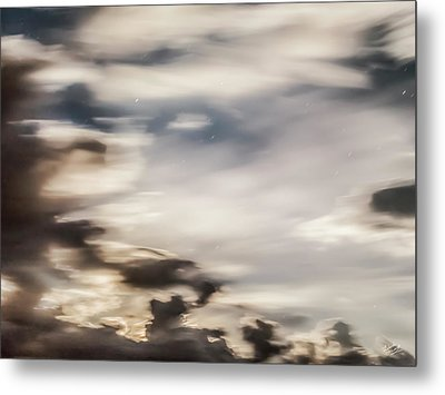 Night Sky 2 Metal Print by Leland D Howard