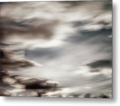 Night Sky 3 Metal Print by Leland D Howard