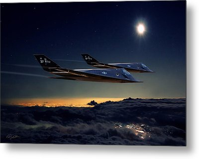 Night Stalkers Metal Print