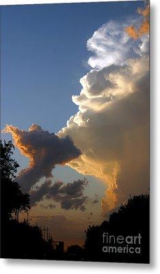 Nightly Storm Metal Print by Steve Augustin