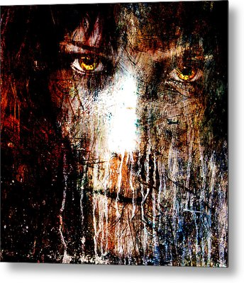 Night Eyes Metal Print by Marian Voicu
