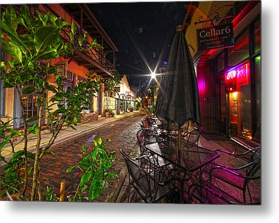 Nights In Oldtown Metal Print