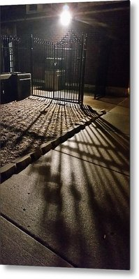 Nightshadows Metal Print