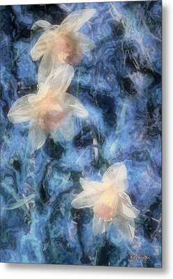 Nighttime Narcissus Metal Print by RC deWinter