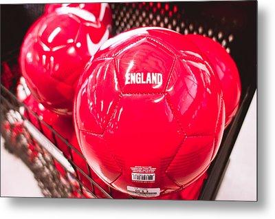 Nike Balls Metal Print by Tom Gowanlock