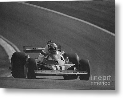 Niki Lauda. 1977 French Grand Prix Metal Print