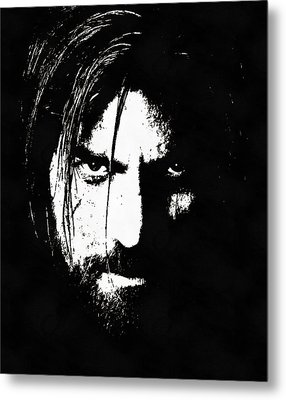 Nikolaj Coster-waldau  Metal Print